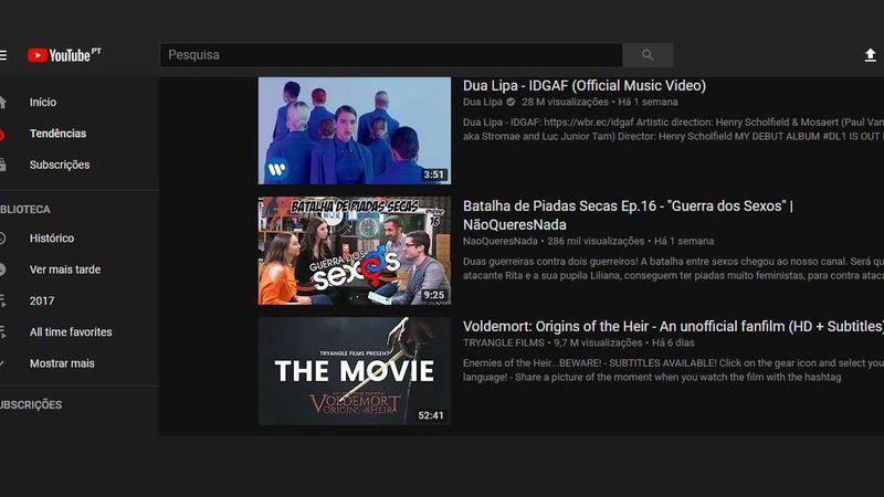 """O """"lado mais negro"""" do YouTube também está a chegar aos smartphones"""