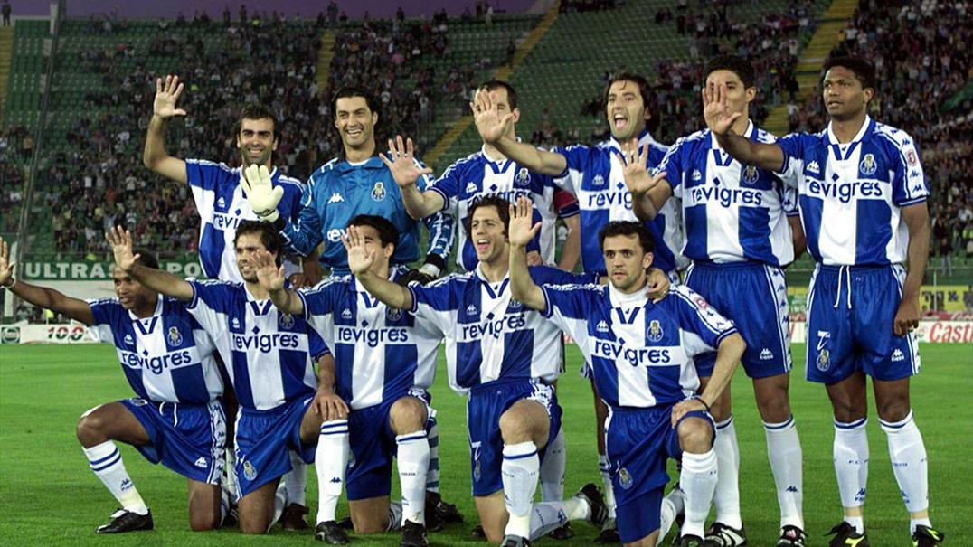 Vinte anos de FC Porto pentacampeão
