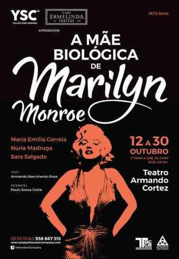 A mãe biológica de Marilyn Monroe