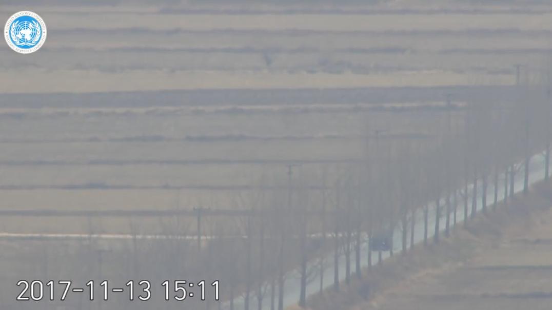 Divulgado vídeo que mostra deserção de soldado norte-coreano