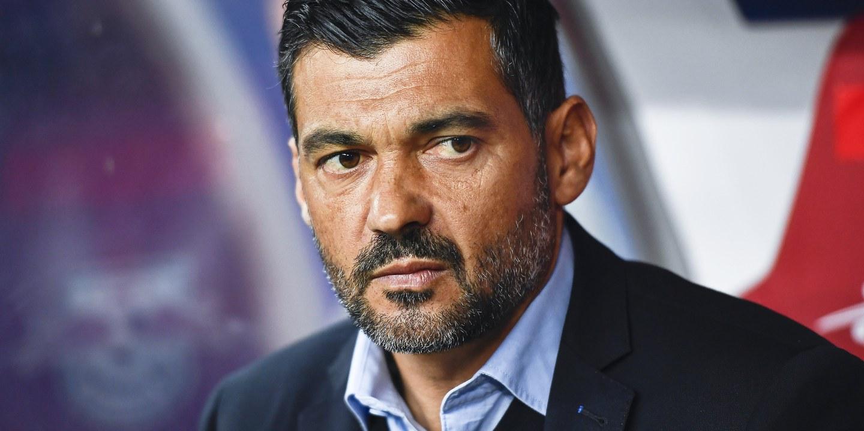 Sérgio Conceição evita conferência após expulsão
