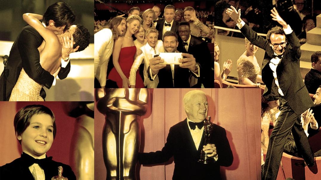 88 anos de Óscares. 5 momentos marcantes