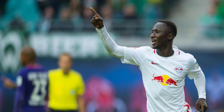 Naby Keita, jogador do Leipzig, suspenso por três jogos