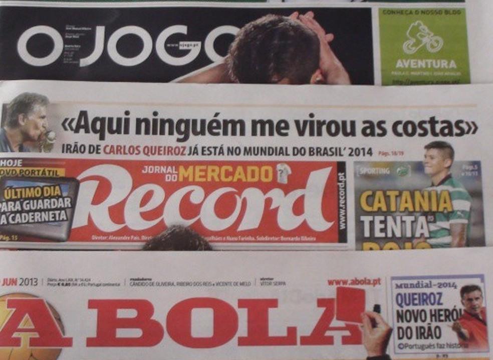 Revista de imprensa: Gedson e Marega em destaque nas primeiras páginas