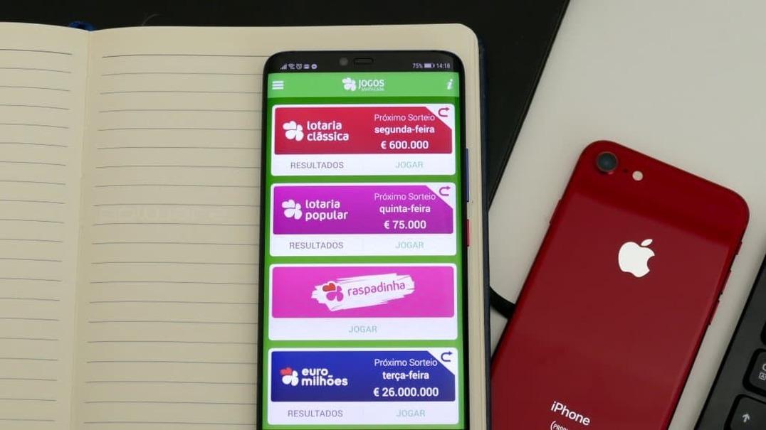 A sorte não escolhe lugar: conheça a app dos Jogos Santa Casa