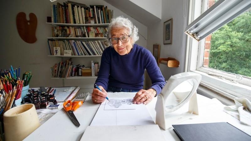 """Morre aos 95 anos Judith Kerr, a britânica que escreveu o clássico infantil """"O Tigre Que Veio Tomar Chá"""""""