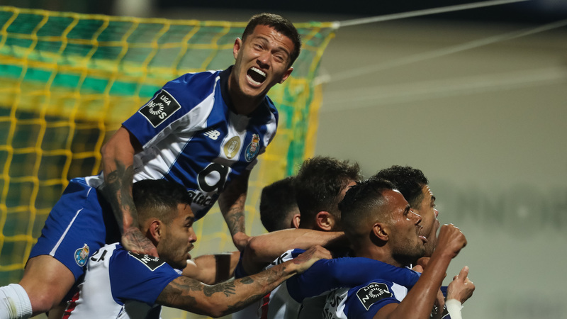 Tondela 0-3 FC Porto: Herrera faz o terceiro