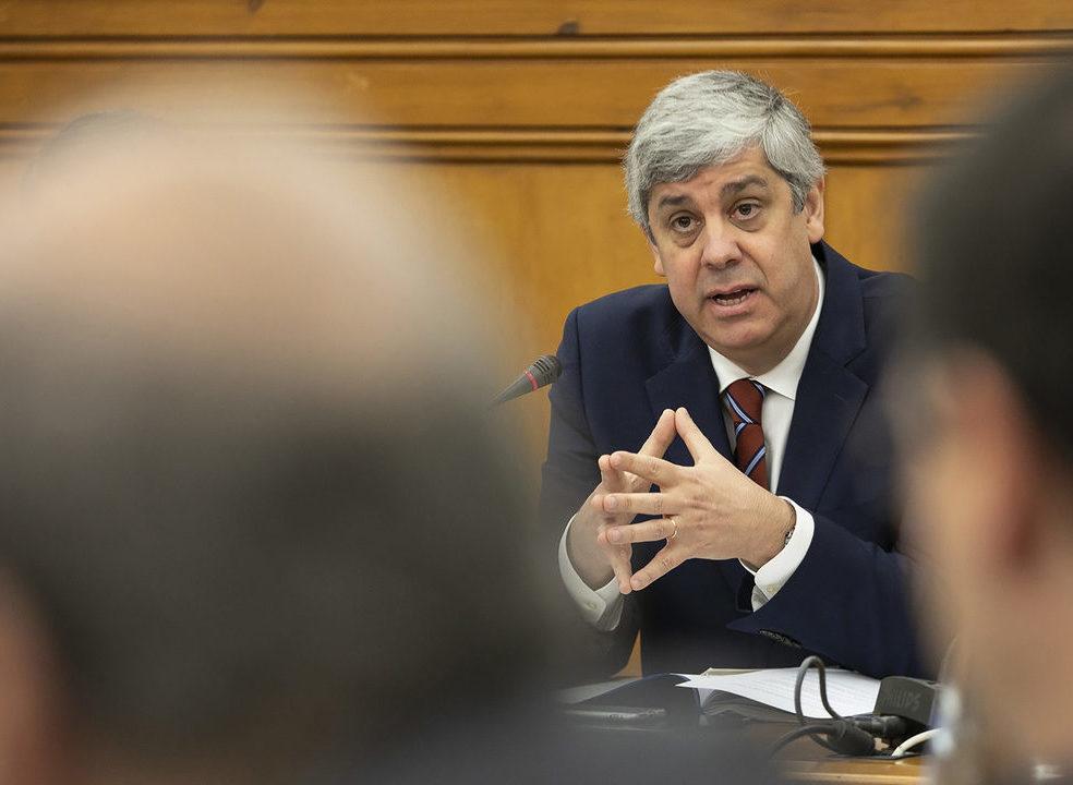 """Centeno garante que ganho médio dos trabalhadores da Função Pública cresceu """"em linha com o privado"""""""