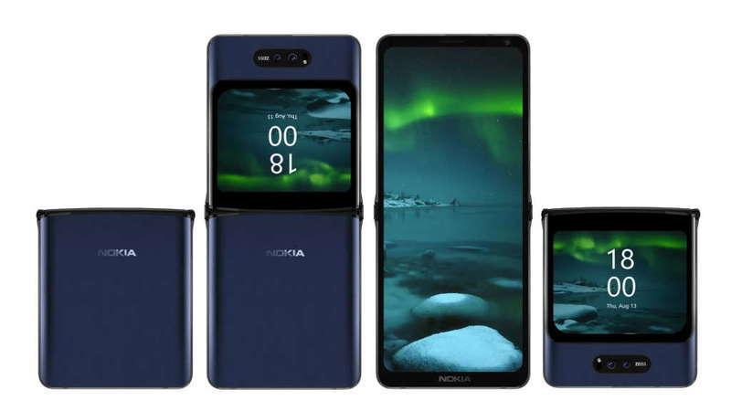 Nokia ainda estará a trabalhar no seu smartphone com ecrã dobrável