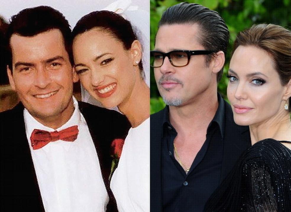 De 6 horas a 25 meses: os casamentos de Hollywood com pavio curto
