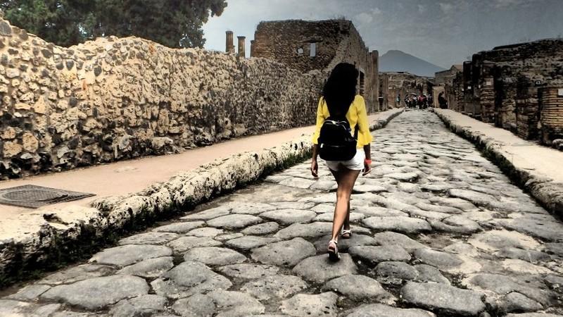 Pompeia: a cidade que ressurgiu das cinzas