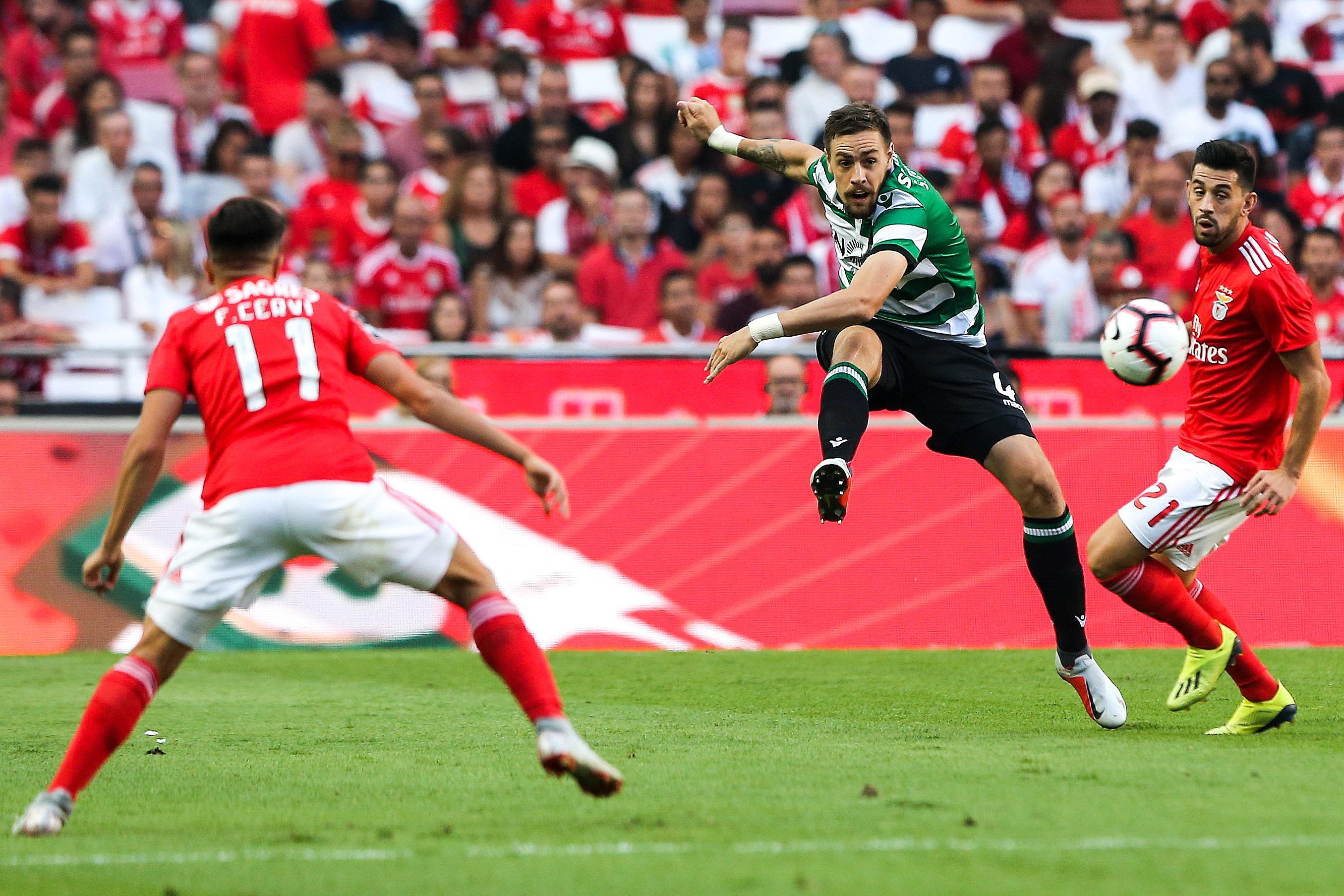 Liga Europa: os possíveis adversários do Benfica e do Sporting nos 16-avos-de-final