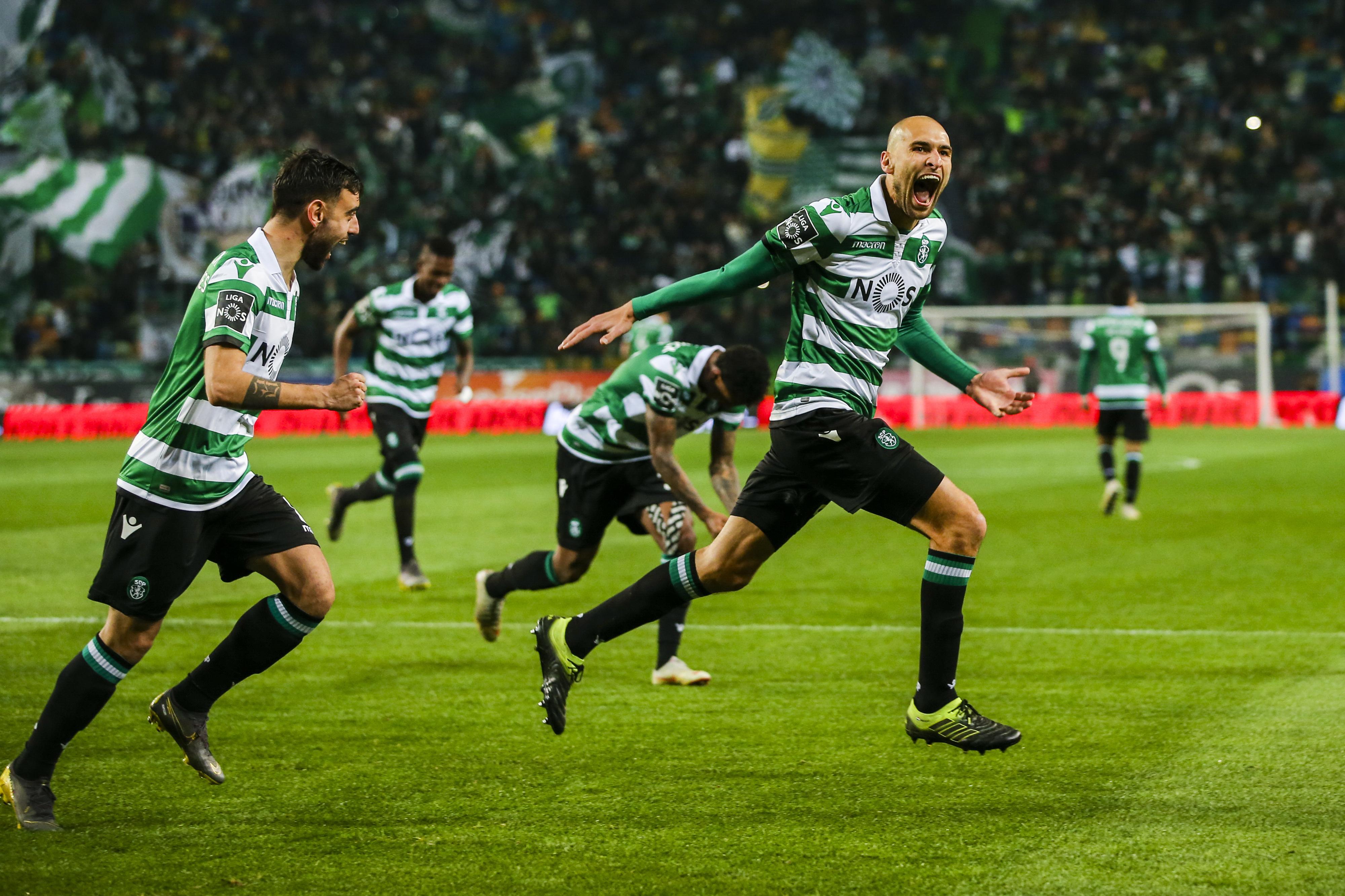 Sporting 3-0 Sporting de Braga: 'Leão' de Keizer volta a rugir e aproxima-se do pódio