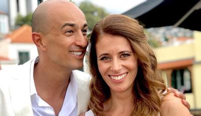 As primeiras imagens do casamento de Andreia Vale