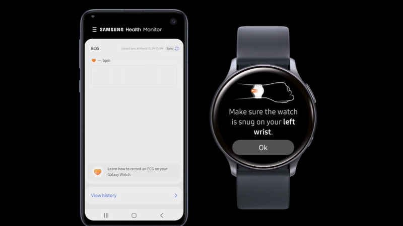 Samsung Galaxy Watch Active 2 vai ter funcionalidade de electrocardiograma no 3º trimestre deste ano