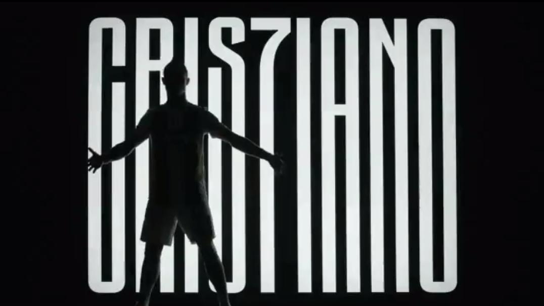 Este é o vídeo promocional da chegada de CR7 a Juventus