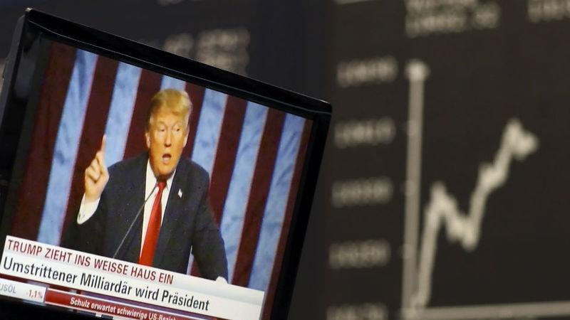 Wall Street continua em ascenção e valorizou 25% desde a chegada de Trump