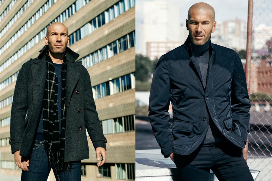 Zinédine Zidane é a nova cara da Mango