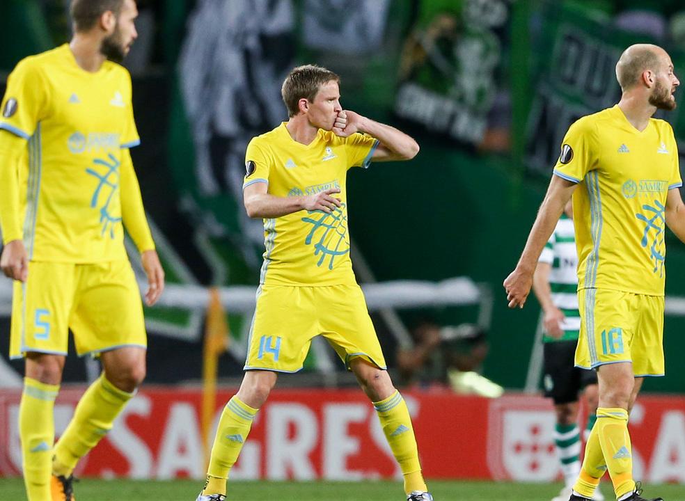 Liga Europa: Sporting garante apuramento para os 'oitavos' com empate a 3-3 em Alvalade