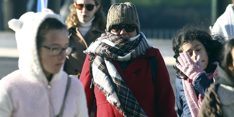 Previsão de redução acentuada da temperatura a partir da tarde de sexta-feira