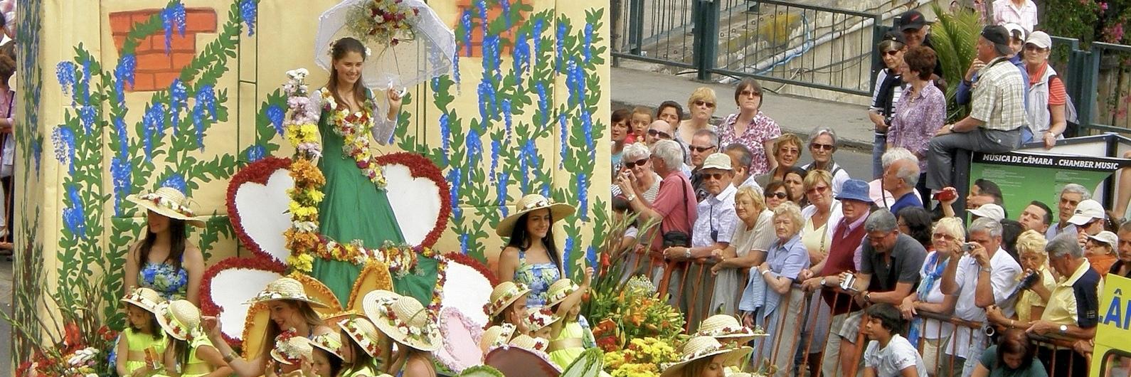 A Festa da Flor no Funchal