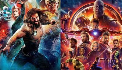 """""""Aquaman"""" e """"Vingadores 4"""": filmes de super-heróis também são rivais na duração"""