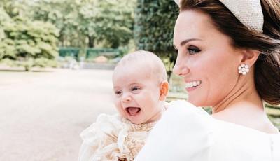 Sorriso do príncipe Louis encanta em nova fotografia