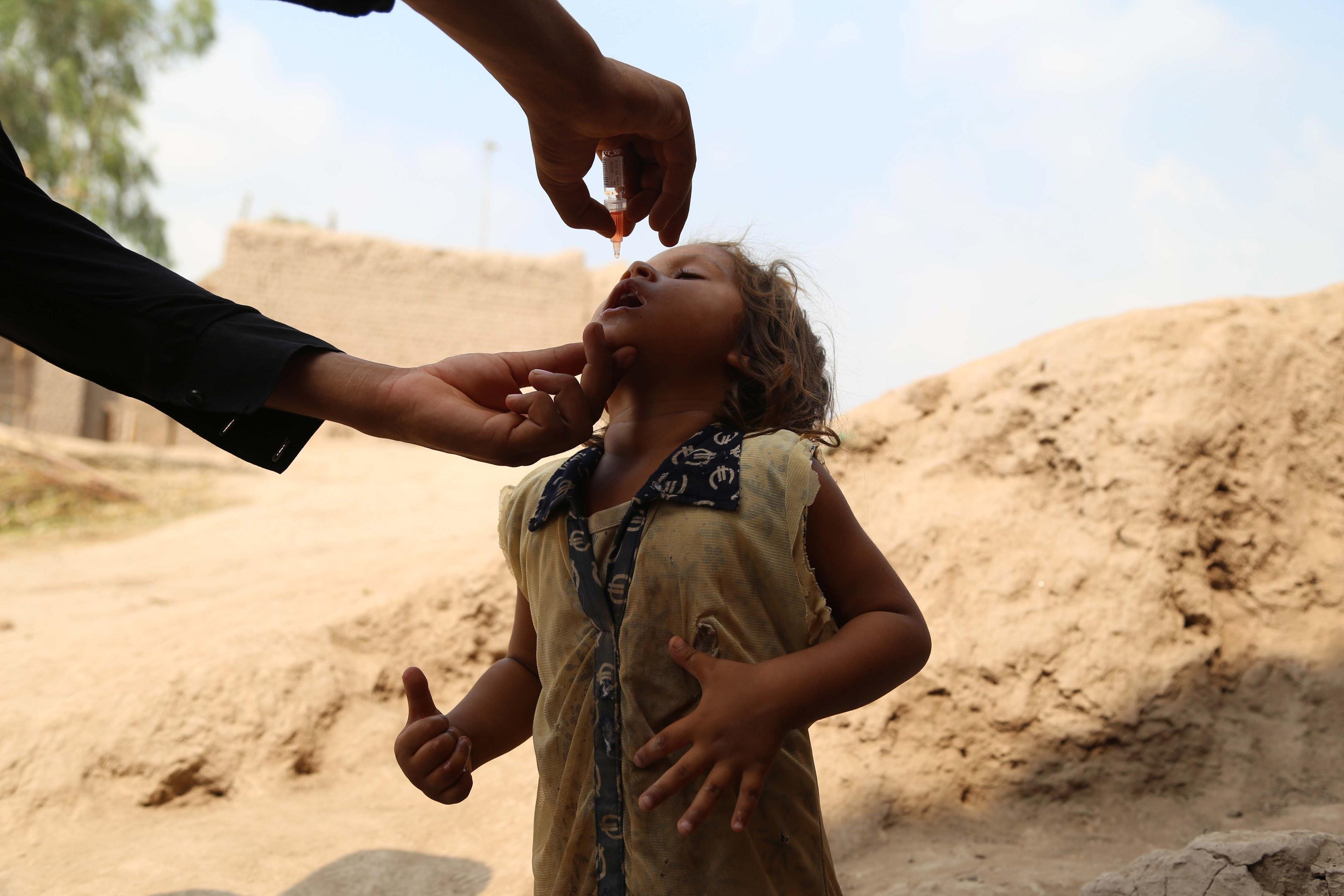 Angola avança com nova ronda de vacinação contra surto de poliomielite