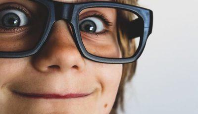 Cuidados com a saúde da visão das crianças