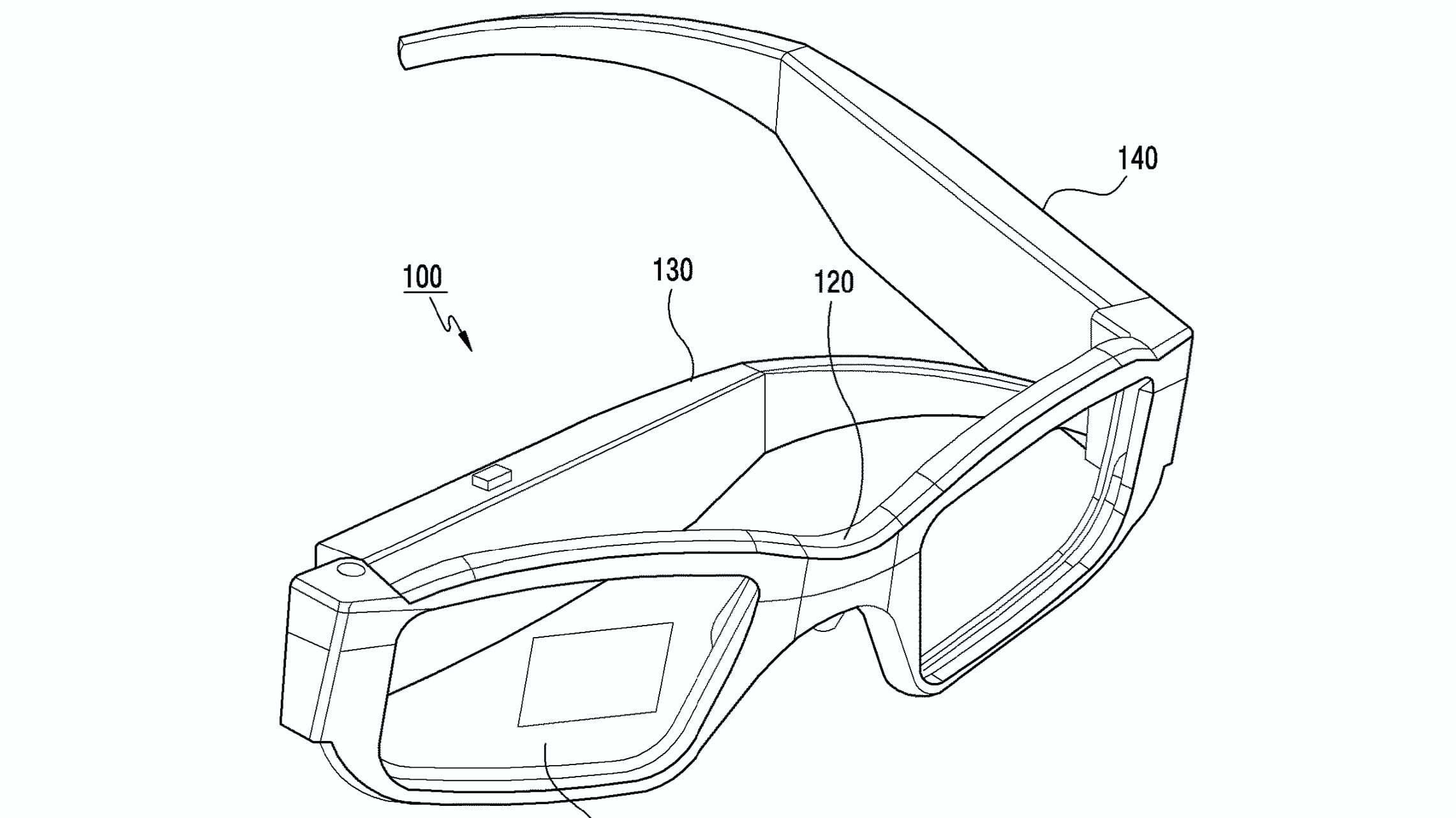 Samsung regista patente para óculos de realidade aumentada dobráveis