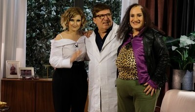 Herman José faz nova paródia com programa de Cristina Ferreira