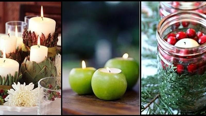 Torne a mesa de Natal deslumbrante com estas dicas de decoração com alimentos