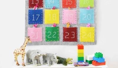 Aprenda a fazer um calendário de advento. Com a ajuda dos miúdos, claro!