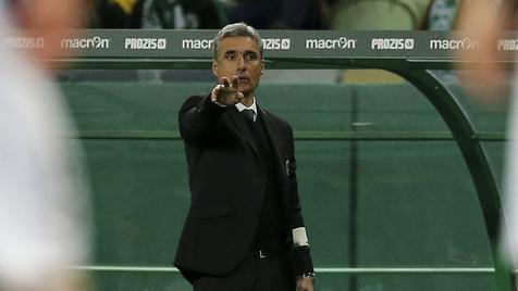 """Luís Castro: """"Fiquei frustrado com o resultado"""""""
