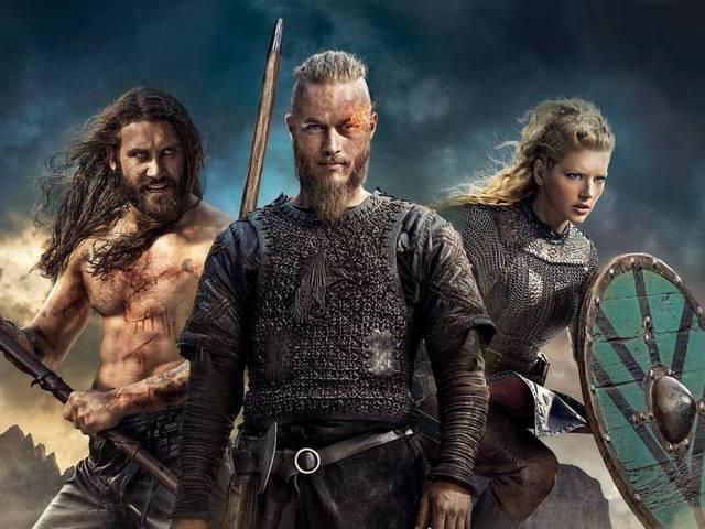 Quarta, 8: Vikings (estreia da T1)