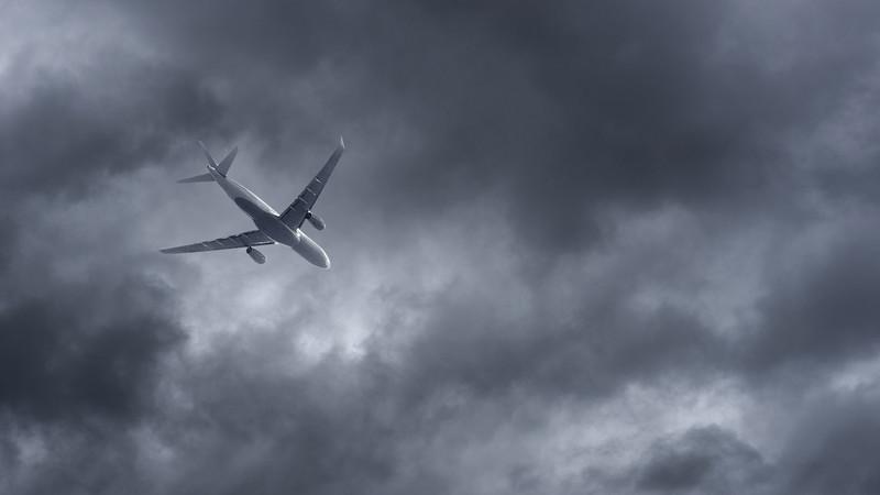Mais turbulência durante o voo? A culpa pode ser do aquecimento global