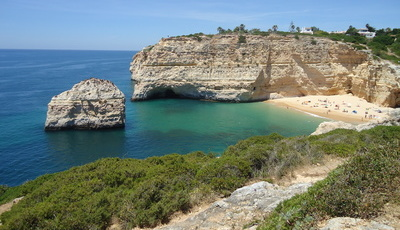 Praia do Carvalho: uma joia ainda escondida no Algarve