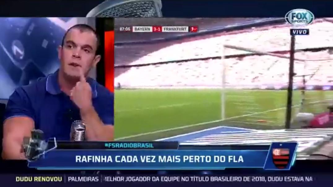"""Comentador brasileiro afirma que """"Benfica perto do Flamengo não é nada"""""""