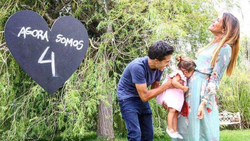 Francisco Garcia vai ser novamente pai