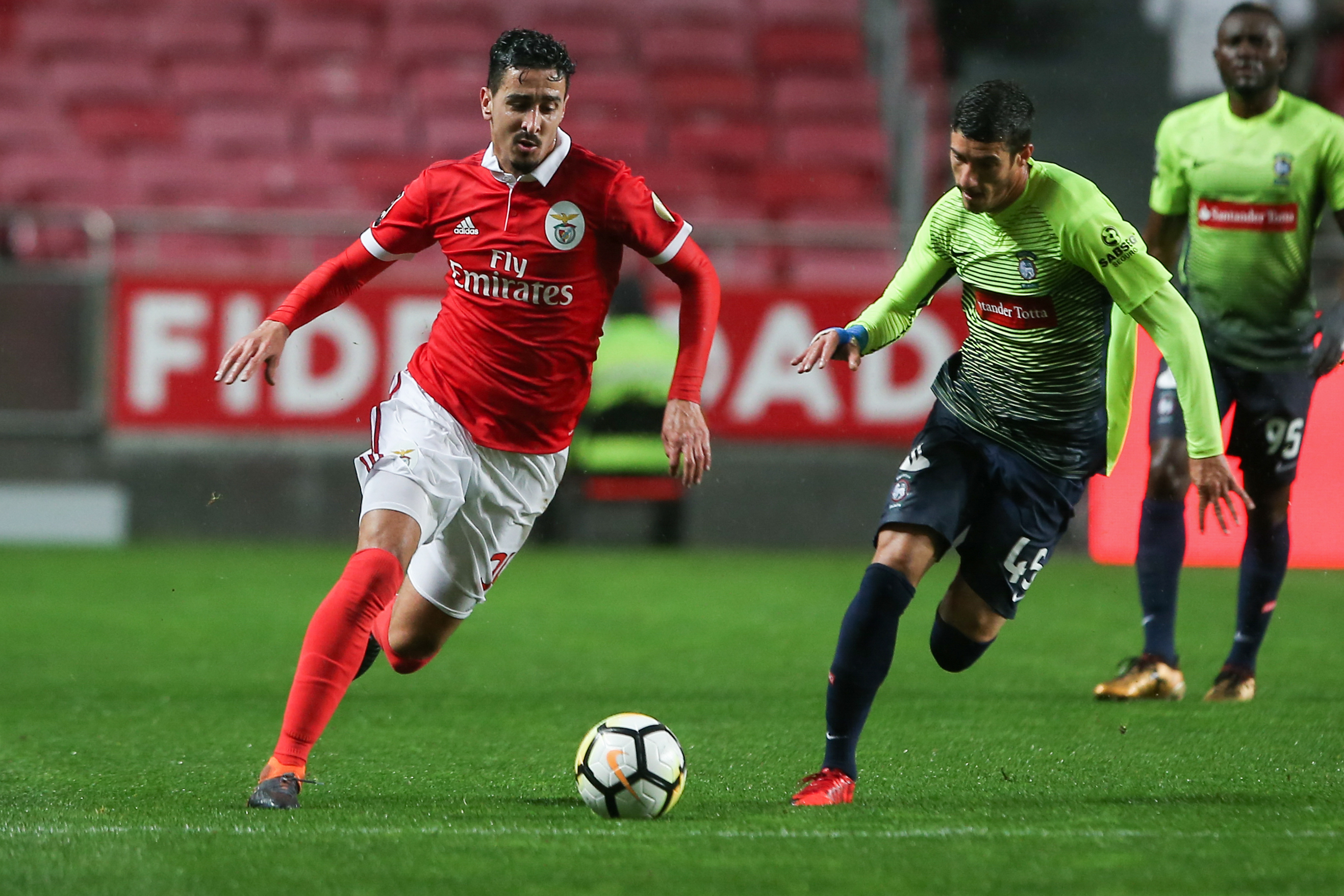 Ricardo Valente e Fábio China desfalcam Marítimo na receção ao Benfica