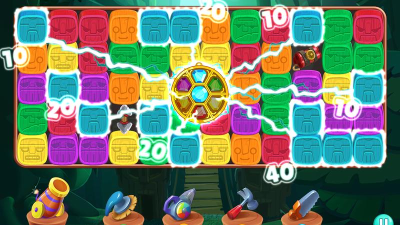 O Cubes Puzzle não tem nada que enganar: é só juntar peças de cor igual