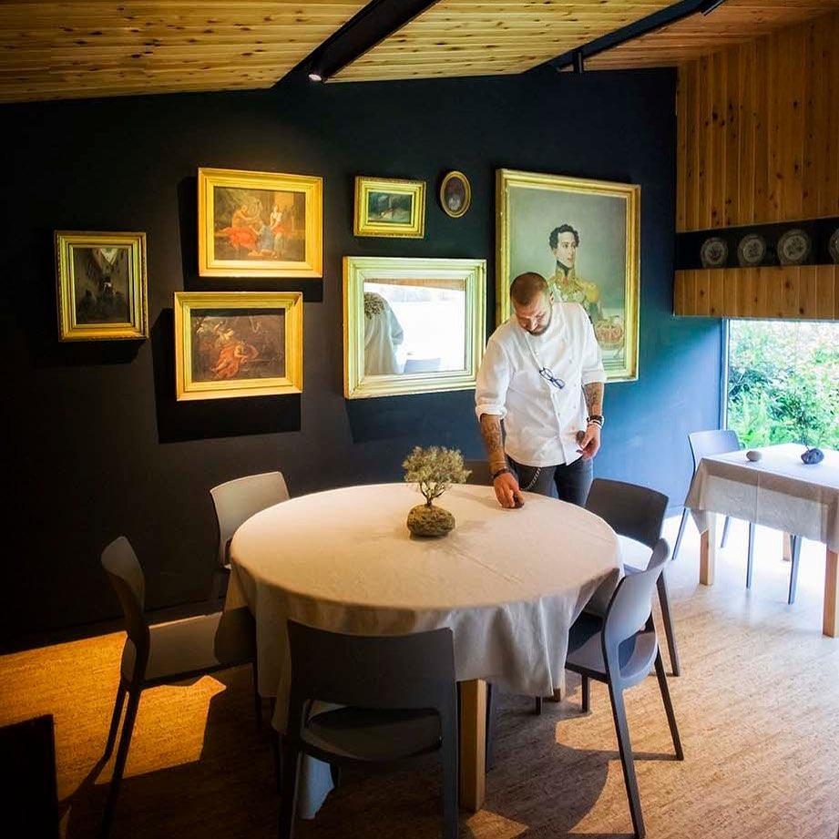 Ljubomir Stanisic em estado Líquen no novo restaurante açoriano