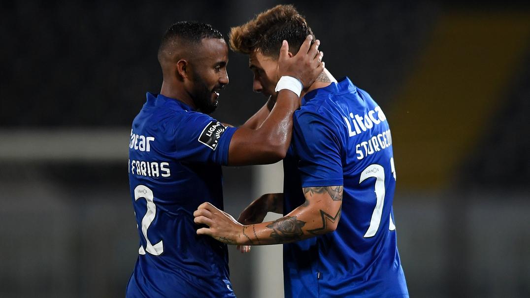 Vitória SC 0-1 CD Feirense: veja o resumo do jogo