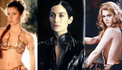 De Carrie Fisher a Jane Fonda: Recorde as deusas da Ficção Científica