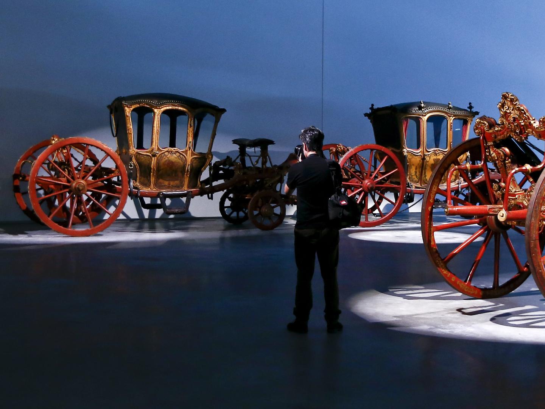 """Exposição de automóveis no Museu dos Coches é """"altamente imprópria"""""""