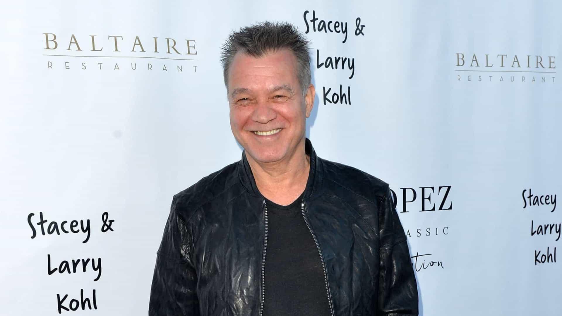 Eddie Van Halen hospitalizado devido a complicações nos tratamentos