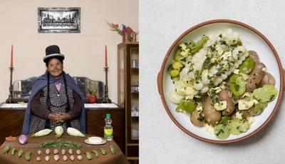 Galimberti prometeu à sua avó e cumpriu. Viajou por 50 países e fotografou a cozinha de carinho das avós