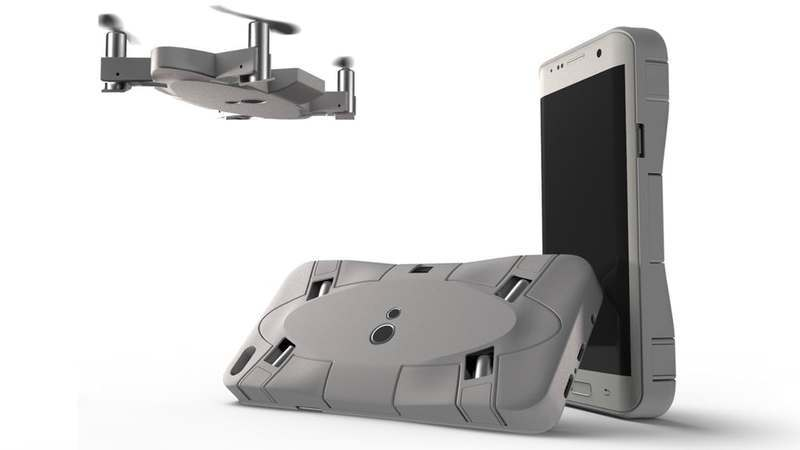 Selfly: A capa para smartphone que vem com um microdrone