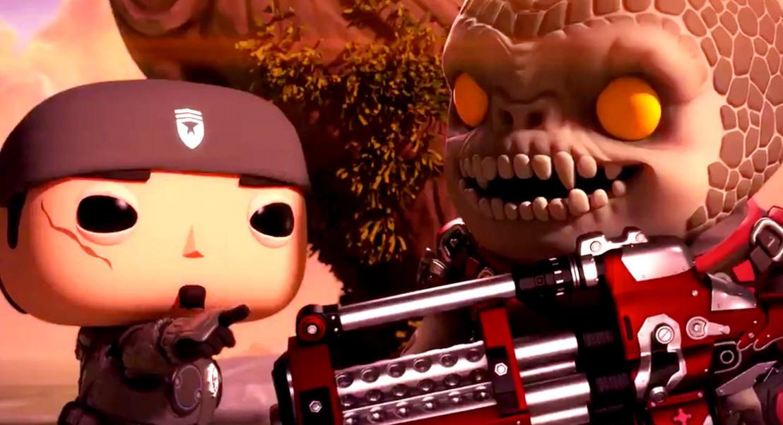 Personagens de Gears of War transformadas em Funko Pop em novo jogo para smartphones