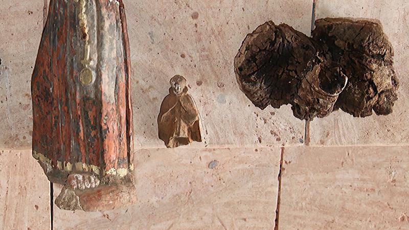 Cabo Verde conserva e identifica imagens de santos descobertas na Cidade Velha